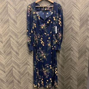 Reformation Wallflowerd Dress